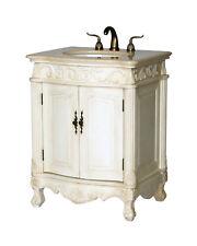 27-Inch Antique Style Single Sink Bathroom Vanity Model 2917-27 261Be