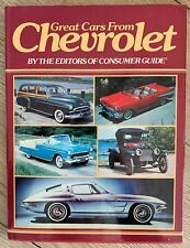 Great Cars from Chevrolet Oldtimer Automobile American 1950er