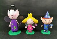 Ben And Hollys Little Kingdom Figures Nanny Plum Ben Holly all with wands