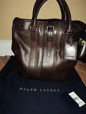 NWT $1295 Ralph Lauren Purple Label Made In Italy Mens Bag