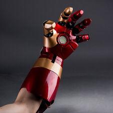 CATTOYS Tony Stark Iron Man Mark 42 1/1 Gauntlet Auto Light Up LEFT HAND NEW