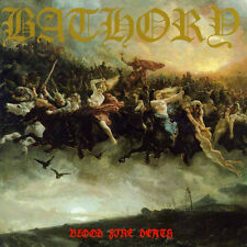 Bathory BLOOD FIRE DEATH Black Mark Records NEW SEALED CD