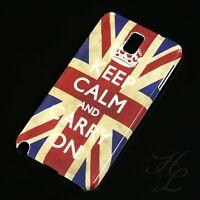 Samsung Galaxy Note 3 N9000 9005 Hard Case Schutz Hülle Keep Calm Carry On Etui