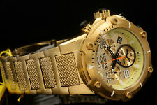 Invicta Speedway XL VIPER RondaZ60 Movt Champagne Dial 18K Gold Plated S.S Watch