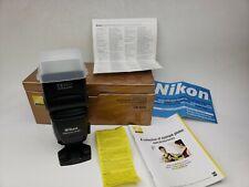 NEVER USED NIKON SB-800 SPEEDLIGHT FLASH Nikon Camera In BOX with Paperwork