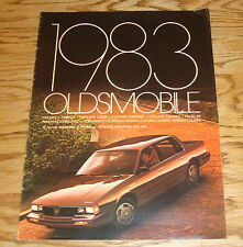 Original 1983 Oldsmobile Full Line Sales Brochure 83 Toronado Cutlass Delta