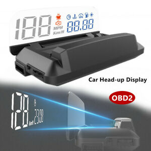 5inch Display Screen L3 OBD2 Heads Up Display Car HUD With Reflection Board