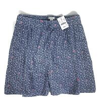J Crew Mercantile Women's Multicolor Easy Pull On High Waisted Shorts Size M