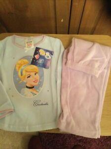 New With Tags Girls Fleece Pyjamas , Age 18-24 Mnths , Theme Disney Cinderella .