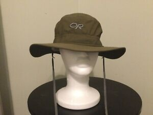 OUTDOOR RESEARCH SZ L olive GREEN HAT SOMBRERO