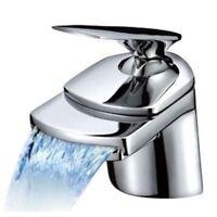 Design Wasserfall Armatur | Waschtischarmatur | Wasserhahn | Waschbecken Armatur