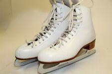 Riedell 1335 Womens 8 Artistic Figure Ice Skates John Wilson Sheffield Blades