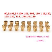 16x Injecteur Gicleur Principal Carburateur pour PWK Keihin OKO CVK 92 98 - 150