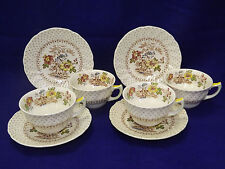 Royal Doulton Grantham 4 Cup & Saucer Sets - buy up to 2 sets of 4