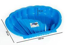Sandkasten Sandmuschel Muschel Wasser Planschbecken groß 108x79cm XL, 5 Farben!