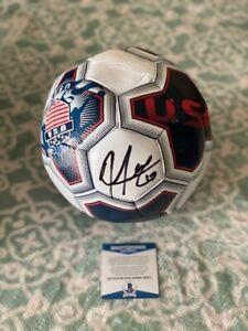Jozy Altidore USA Signed Soccer ball COA Beckett #B90874 Autograph