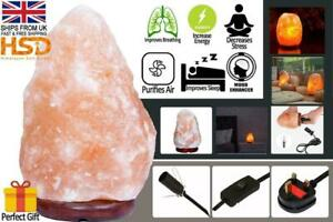 1.5 Kg-2 Kg 100% Genuine Natural Himalayan Salt Lamp Crystal Pink Rock Salt Lamp