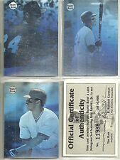 Ken Griffey Jr 1992 Front Row 3-card Factory Sealed Mariners Hologram Set /50000