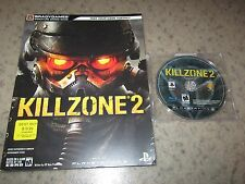 Killzone 2 (Sony PlayStation 3, 2009) With Strategy Guide