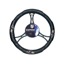 New NFL Baltimore Ravens Synthetic leather Car Truck Steering Wheel Cover