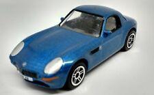 Realtoy BMW Z8 COUPE Blue Metallic 1:58 Scale 76mm Hardtop Diecast Sports Car