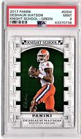 2017 Panini Knight School-Green #DSW Deshaun Watson SP/399 ROOKIE PSA MINT 9