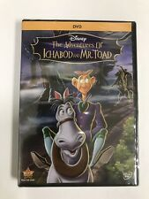 The Adventures of Ichabod and Mr. Toad (DVD, 2014)