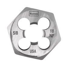 Hanson 6854 Die 5/8-18 1 7/16 Nf Sh, for Tap Die Extraction Dies are ideal
