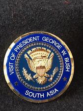 Authentic Visit of Pres. GW Bush '06  South Asia Coin  -39