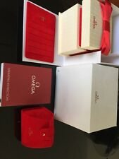 Genuine Omega LadiesWatch Box With Book Aust seller