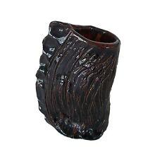 Folk Art Terracotta Pinch Pot Bud Vase - Signed - Canada - Late 20th Century
