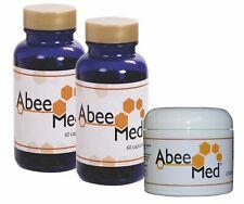2+1 Abee Med Abeja Dolor Crema anti inflamatorio, 100% Natural.. Original EE. UU.