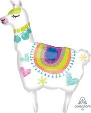 "Anagram Alpaca Llama 41"" Supershape Foil Jumbo Birthday Party Balloon"