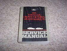 1995 Lincoln Town Car Shop Service Repair Manual Signature Executive Cartier 4.9