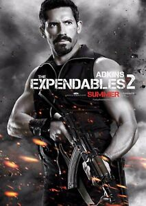 The Expendables 2 Film Poster - Scott Adkins - Option 2 - A4 & A3