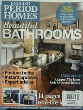 English Period Homes UK Issue 2 Beautiful Bathrooms Period Home FREE SHIPPING sb