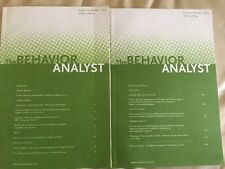 The Behavior Analyst Scientific Journal Volume 35 Numbers One And Two ABA ABAI