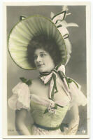c 1903 vintage Music Hall Cabaret MISS DANGER undivided back photo postcard
