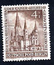 Germany Berlin 1951 #9NB8 Church Used