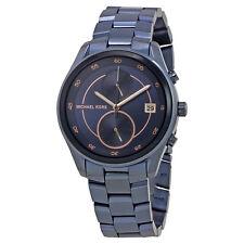 Michael Kors Briar Navy Blue Dial Ladies Multifunction Watch MK6468