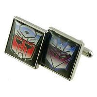 Transformers Cufflinks - Autobots & Decepticons - Great Men's Gift (APS660)
