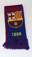 Fc barcelona scarf reversible winter soccer official merchandise authentic messi