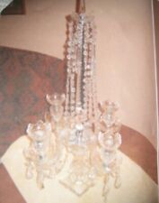 19Th Century Antique Crystal Girondelles