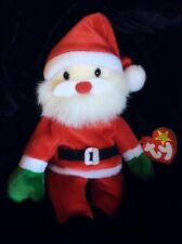 RARE Ty Beanie Baby Santa with Errors 1998 retired new small collection