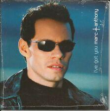 MARC ANTHONY I've got you 2TRX EDIT & RARE MIX CARD SLEEVE CD Single SEALED 2002