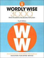 4TH EDITION Wordly Wise 3000 Grade 5 Student NEW