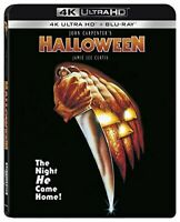 Halloween (1978 Jamie Lee Curtis) (John Carpenter's) 4K ULTRA HD BLU-RAY NEW