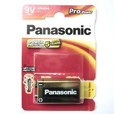 9V Battery Panasonic Pro Power Gold Alkaline 9V Batteries