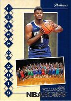 Zion Williamson RC 2019-20 NBA Hoops Class of 2019 Insert Rookie Card Pelicans 7