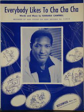 Sam Cooke – Everybody Likes to Cha Cha Cha Sheet Music Nr